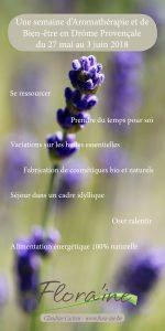 Séjour Aromathérapie et Bien-être en Drôme Provençale @ Divinessence | La Roche-sur-le-Buis | Auvergne-Rhône-Alpes | France
