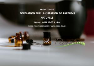 Création de parfum naturel @ Flora'ine